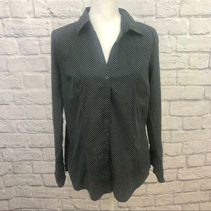 Express Design Studio Button Down Blouse
